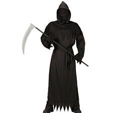Sensenmann Kinder Kostüm Grim Reaper Outfit Halloween Verkleidung Geisterkostüm