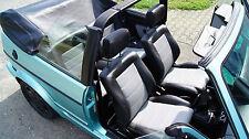 Golf 1 Cabrio Sitzbezüge und Türverkleidungen in vier Farben Lederausstattung