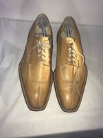 Elegant Mens Tan Leather Smart Dress Lace Up Leather Shoes Size 44 Ref Ap02
