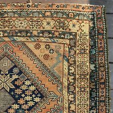 3' 11 x 6' 2 Antique Rug Oriental Rug Area Rug Free Shipping