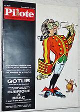 PILOTE EO N°536 12/02 1970 PILOTORAMA ESPACE ASTERIX LUKE VALERIAN BLUEBERRY