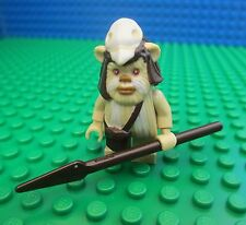 Lego Star Wars Ewok Logray Minifig Minifigure Endor 7956