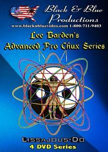 All 4 Lee Barden Advanced Prochux Nunchaku Instructional DVDs