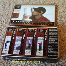 Vintage Tiger Woods Nike Golf Ball Tin Commemorating US Open Win 2000 Series 1