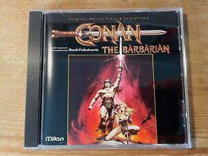 CONAN THE BARBARIAN (Basil Poledouris) OOP 1992 Varese Score Soundtrack CD EX