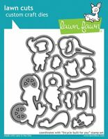 LF1324 Lawn Fawn Lawn Cuts Die Cut Bicycle Built For You -  Balloon Spring