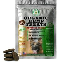 Organic Hemp Treats for Large Dogs, Peanut Butter Cookie Anxiety Relief 18 Chews