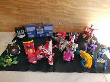 LOT Hasbro Transformers Plus Vintage