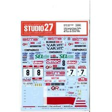 Studio27 DC1121 1:24 Lancia Super Delta A.R.T. #7 Sanremo/#8 Tour de Corse1992
