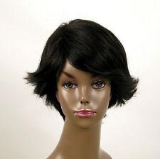perruque afro femme 100% cheveux naturel courte noir ref WHIT 02/1b