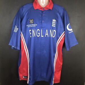 England 2003 World Cup Admiral ODI cricket Shirt Jersey XL