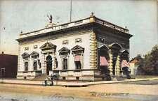 New Brighton Pennsylvania Post Office Street View Antique Postcard K89086