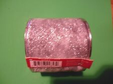 New ! 25 Ft Christmas Gift Ribbon Silver color