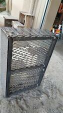 Metal Pro Snake Basket Charcoal Firewood Pan BBQ Smoker Grills Fire Box Catering