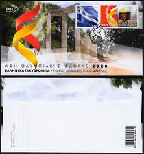 Greece 2020 Lighting of the Olympic Flame Tokyo Japan Olympic Games FDC