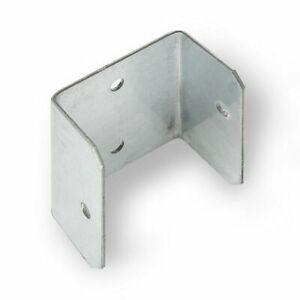 10, 20 OR 100 FENCE & TRELLIS CLIPS BRACKET PANEL FIXING GARDEN POST FENCING