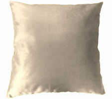 Mo136a Pale Taupe Shimmer Velvet Style Cushion Cover/Pillow Case*Custom Size*