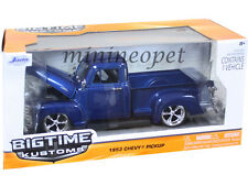 JADA BIGTIME 96864 1953 53 CHEVY 3100 PICK UP TRUCK 1/24 DIECAST BLUE