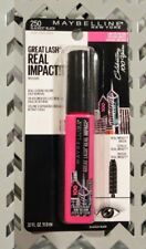 Maybelline Great Lash Real Impact Mascara Very Black Limited Edition New