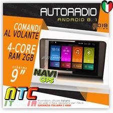 AUTORADIO 4G ANDROID 8.1 QuadCore 2GB Navigatore Mercedes Classe ML/GL W164 X164