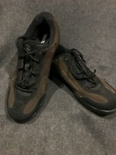 Shimano SPD MTB Cycling Moutain Shoes Brown Suede Sz 40 With SM-SH52 Cleats