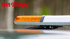 Luce Barra Lampeggiante LED 120 cm Arancione Emergenza