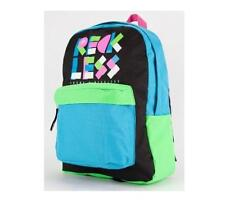 MEN'S GUYS YOUNG & RECKLESS ARTISTIC  BACKPACK  BLUE SCHOOL BAG NEW $55