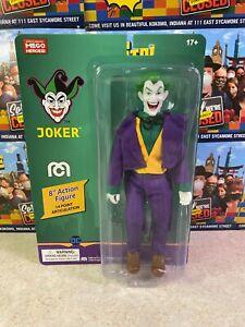 """2021 Mego DC Comics Super Heroes Batman THE JOKER 8"""" Action Figure MOC"""