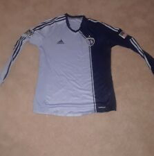 2012 sporting kc adidas formation soccer jersey blue mens xl