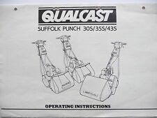 Qualcast Suffolk Punch 30S/35S/43S Petrol Mower Operating Instructions / Manual