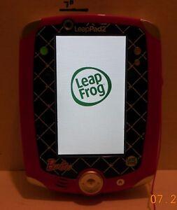 Barbie Leapfrog Leappad 2 Explorer Kids Tablet Game System Rare VHTF Educational