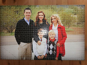 NEW!! 1000piece Personalised Jigsaw Puzzle with your Photo & Message ,great gift