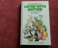 LISTEN WITH MOTHER BOOK-HUTCHINSON ANIMAL TALES