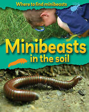 Minibeasts in the Soil (Where to Find Minibeasts) by Ridley, Sarah