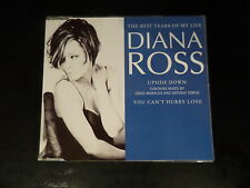 CD SINGLE - DIANA ROSS - THE BEST YEARS OF MY LIFE / UPSIDE DOWN - YOU CAN'T HUR