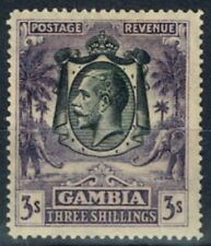 Gambia George V Era (1910-1936) Stamps