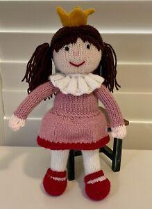 Handmade Knitted Princess Doll