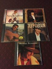 JEFF CARSON/ GARY ALLEN/ MICHAEL PETERSON/ JAMES BONAMY/ ANITA COCHRAN- CD LOT 5