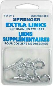 Training Collar - Sprenger Extra Links - Silver 000513-G3000
