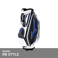 Mizuno 2018 RB Style Men's Caddie Bag Cart 9.5In 4Kg 5Way PU Free EMS White/Blue