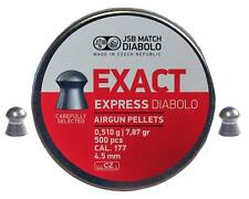 JSB Exact Express .177 4.52 CILINDRI 50 PELLET CAMPIONE Pack leggero
