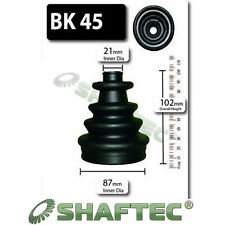 GENUINE SHAFTEC INNER CV BOOT KIT FOR VW GOLF PASSAT SHARAN VENTO
