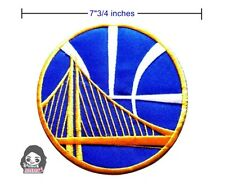 Golden State Warriors NBA Sport Big Size Logo iron-sewing-patch on fabric