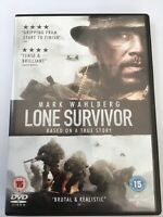Lone Survivor DVD (2014) Mark Wahlberg FREEPOST VGC