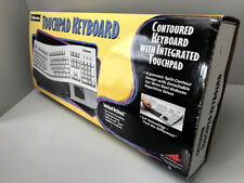 VINTAGE FELLOWS CONTOURED KEYBOARD INTEGRATED TOUCHPAD NEW IN BOX SOFTWARE
