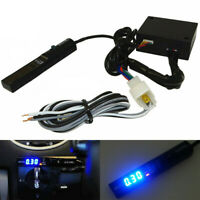For Universal APEXI Auto Turbo Timer NA Black Pen Control JDM Blue Led Digital