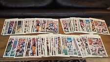 1981 Marketcom Football Mini Posters - 3 Sets of Stat Backs