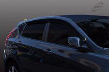 SAFE Smoke Window Sun Visor 4Pcs For Hyundai Accent Solaris HatchBack 2011 2016