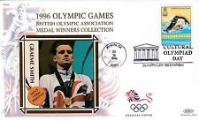 (41188) USA Benham Cover Olimpiadi NUOTO Graeme Smith Atlanta 26 luglio 1996