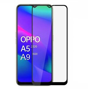 For Oppo A5 A9 2020 A53 A72 A94 5G Full Cover 9D Tempered Glass Screen Protector